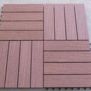 300X300mm waterproof WPC decking tiles