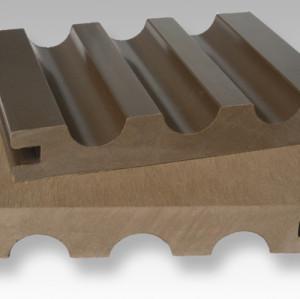الخشب التزيين مركب من البلاستيك