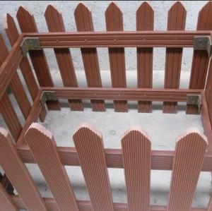 Plastic Wood Outdoor fencing