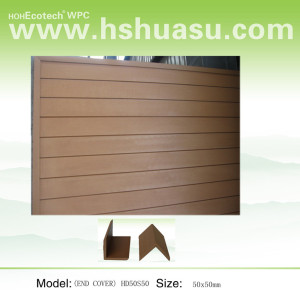 wood color wpc wall siding