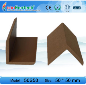 waterproof wpc decking WPC end cover
