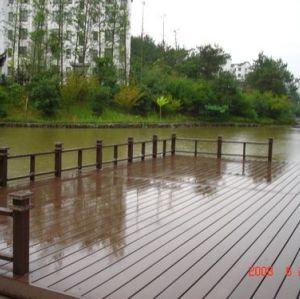 Park deck--WPC materials