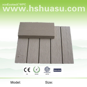 easily fabricated composite decking