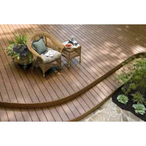 Terrace decking flooring