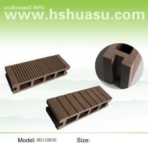 البلاستيك الخشب التزيين في الهواء الطلق (WPC)