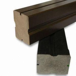 extruding WPC decking /flooring outdoor construction materials wpc joist wood plastic composite keel