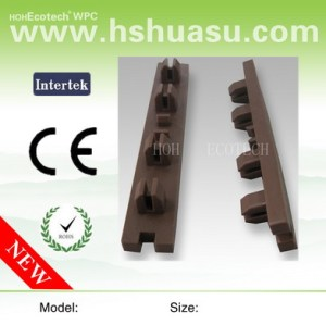 wpc accessory-plastic fastener for wpc decking