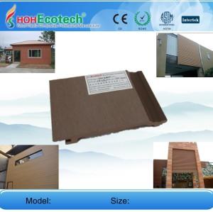 WPC обшивки стен установка композитного облицовки стен WPC стеновые панели