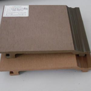 WPC обшивки стен - шлифование поверхности