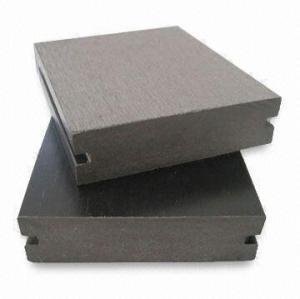 90S25-B WOOD التزيين انتاجية الأرضيات البلاستيكية المركبة / التزيين