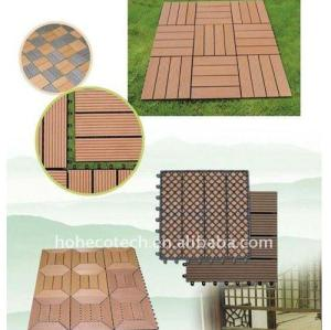 CE، ROHS، ASTM، ISO9001، ISO14001 WPC التزيين / الأرضيات والبلاط