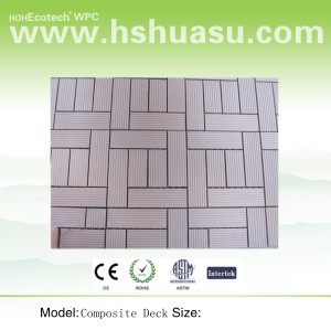 HOT! WPC DIY Tile (SGS Proof/WPC materials)