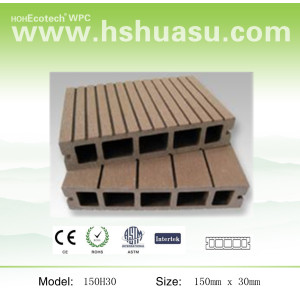 Hot! 150*30mm hollow deck/ WPC