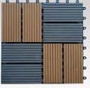 waterproof wpc interlocking decking tiles