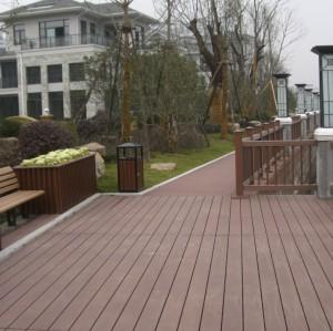 wood  PLastic composite decking WPC Decking  flooring board