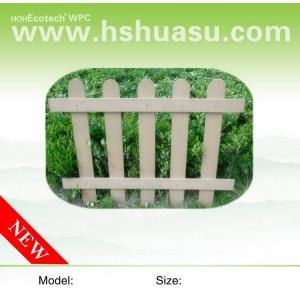 wood polymer fencing