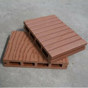 plastic wood composite flooring board 140H25