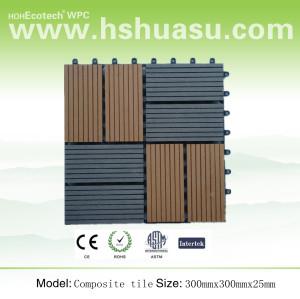 Interlocking WPC Flooring Tile