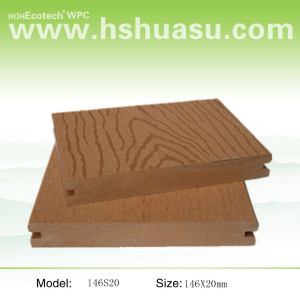 Wood Plastic  Terrace--garden material