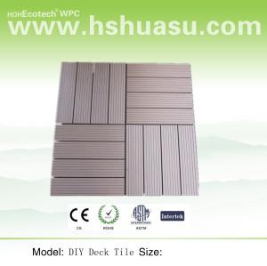 WPC Bathroom Tile Flooring