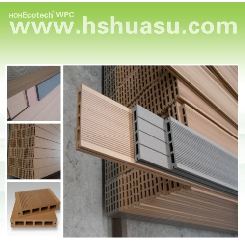 Wpc decking board china high impact resistance wpc deck for 6 metre decking boards