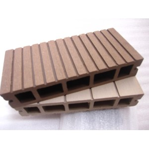 Plastic wood composite sheet