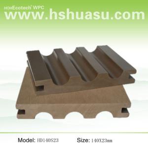 140x23mm solid wpc flooring composite decking wpc decking /flooring