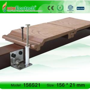 سطح الخشب المركب البائع أفضل جدار الكسوة الخشبية لوحة الحائط WPC لوحة الحائط