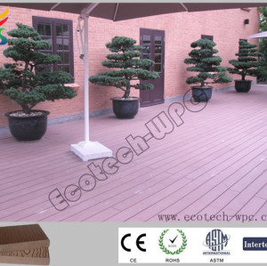 natural look composite deck