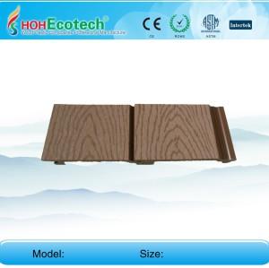 WPC تركيب الكسوة الجدار الجدار الكسوة مركب WPC لوحة الحائط