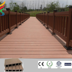 weather-resist wpc solid decking