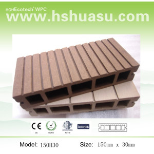 synthetic wood composite deck