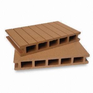 Hot! Hollow 160x25mm wpc decking /flooring