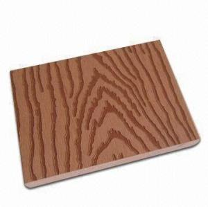 Embossing surface solid wpc decking /flooring