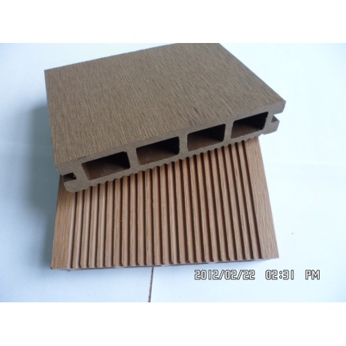 China high quanlity wpc decking made of wood plastic for 6 metre lengths of decking