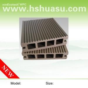 100x25mm الخشب البلاستيك المركب التزيين انتاجية الأرضيات في الهواء الطلق التزيين انتاجية / الأرضيات