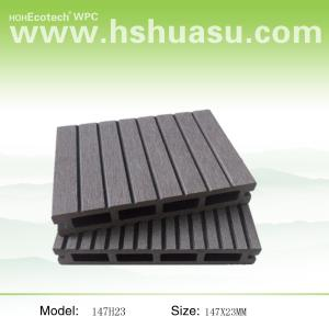 147x23mm الخشب البلاستيك المركب التزيين انتاجية الأرضيات في الهواء الطلق التزيين انتاجية / الأرضيات
