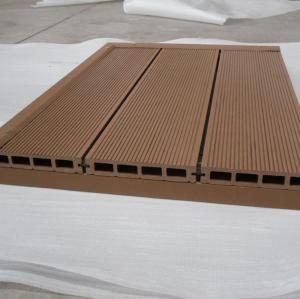 Easy to install150x25mm HOLLOW wpc decking outdoor wpc decking /flooring