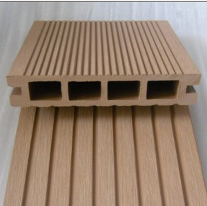Hollow 135x25mm  wpc decking installation  eco-Friendly outdoor  composite deck  wpc Flooring