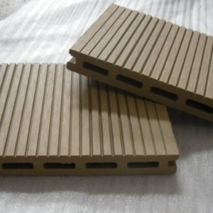 7 colors to choose 140x17mm Hollow wpc decking /flooring board