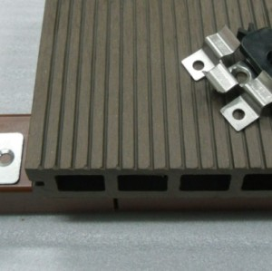 With accessories Hollow wpc decking /flooring board