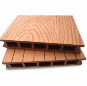Embossing surface  Hollow wpc decking /flooring board