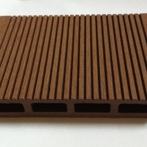 New model 145x21mm  Hollow wpc decking /flooring board