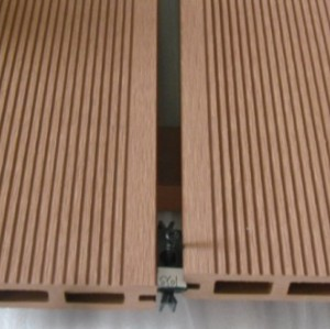 Hollow wpc decking /flooring board