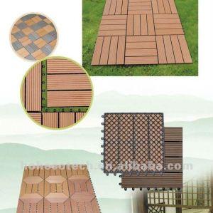 new wpc garden tile