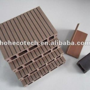 WPC waterproof decking board/WPC composite hollow decking
