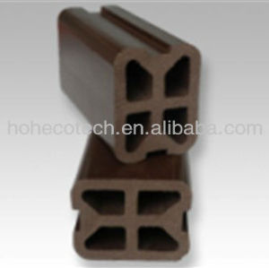 wood plastic composite wpc railing, garden post,WITH ASTM, FSC, ISO9001,CE, ROHS CERTIFICATIONS