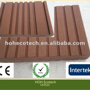 Durable hot sale eco-friendly wpc outdoor decking(water proof, UV resistance, resistance to rot and crack)