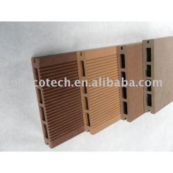 人気のある中空木材プラスチック複合材デッキ/フローリング