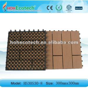 Ecowood et carrelage/decking reclycling de salle de bains